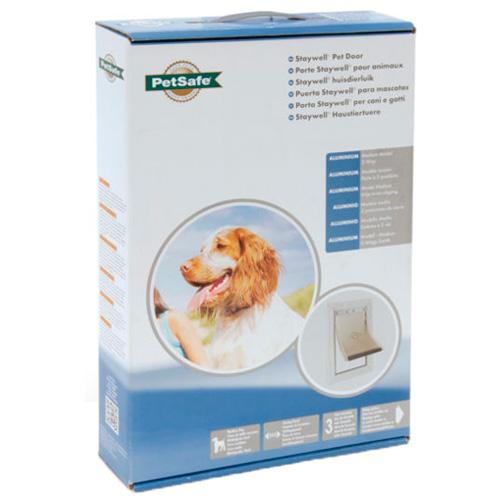 Porta de alumínio para cães pequenos e medianos Staywell