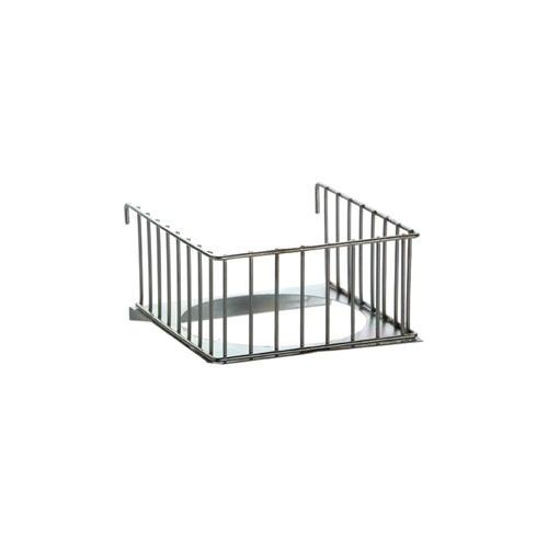 Porta-ninho varanda de metal interior para gaiolas