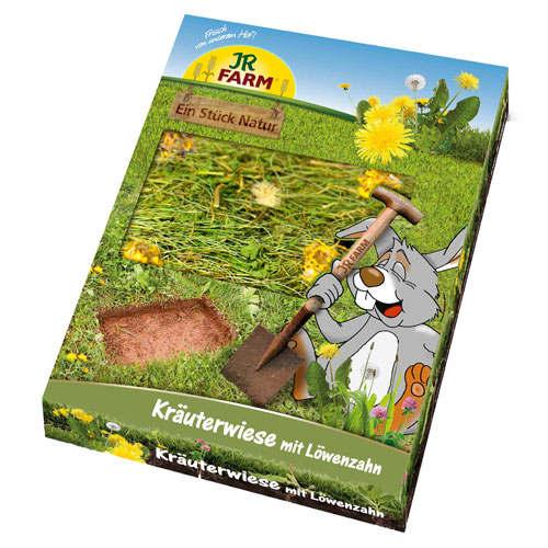 Prado de ervas com dente-de-leão JR Farm para roedores e coelhos