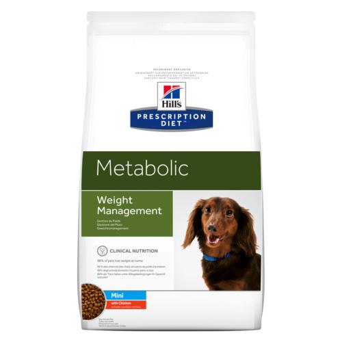 Prescrição de Hill Diet Canine Metabólica Mini Food Dog
