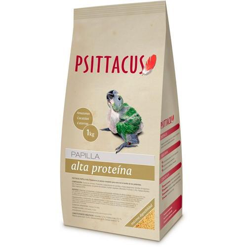 Psittacus Papinha Alta Proteína para aves