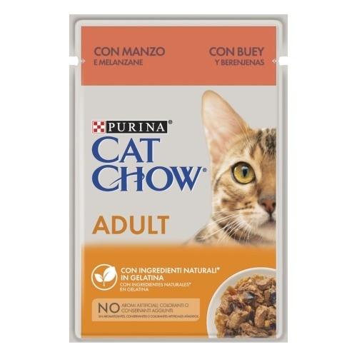 Purina Cat Chow boi em gelatina para gatos