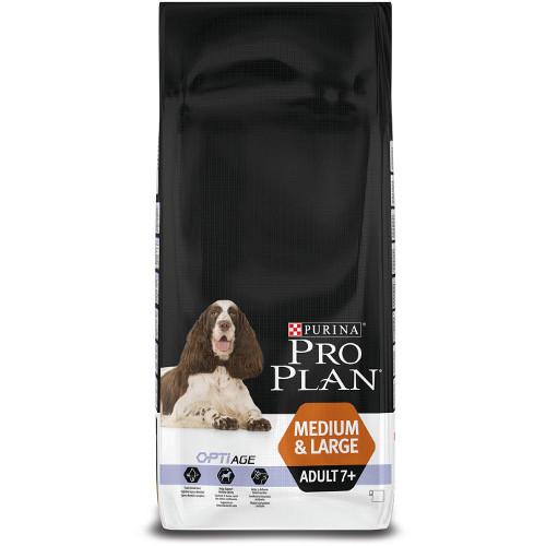 Purina Pro Plan Adult 7  OptiAge Medium & Large
