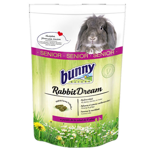 Ração completa para coelhos idosos Rabbit Dream Bunny
