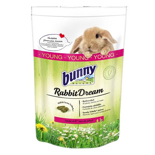 Ração completa para coelhos jovens Rabbit Dream Bunny Young