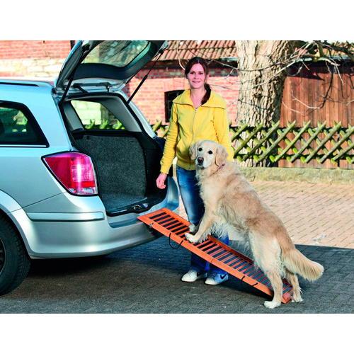 Rampa de madeira para cães 120cm