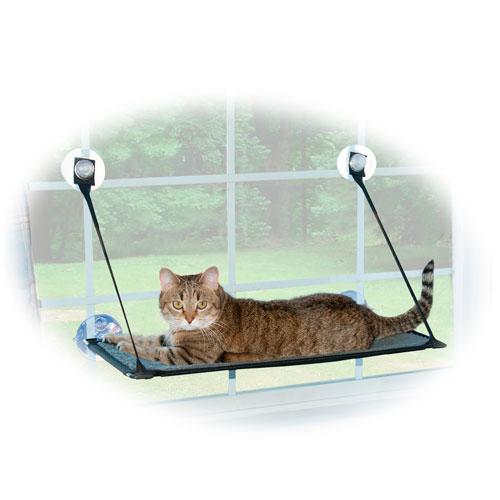 Rede para a janela com ventosas para gatos