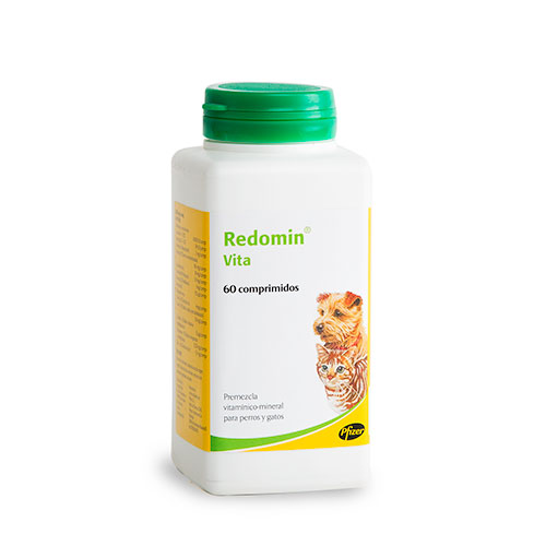 Suplemento multi-vitamínico para cães e gatos Redomin Vita