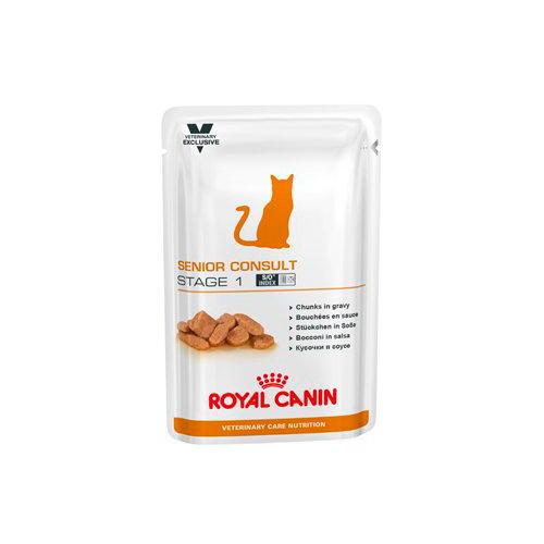 Royal Canin Feline Senior Consult Stage 1 Húmido