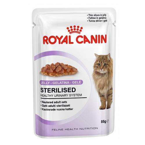 Royal Canin Sterilised Comida H 250 Mida Em Gelatina Para