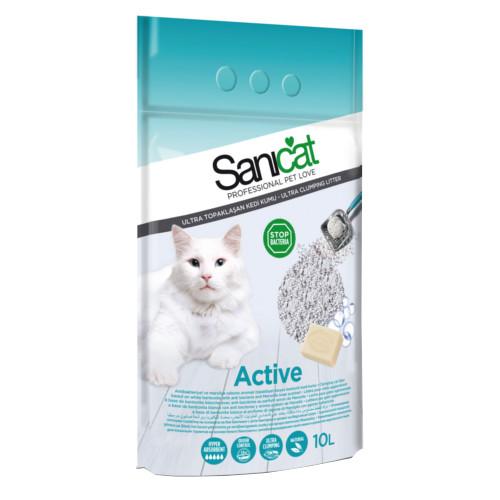 Sanicat Active areia ultra aglomerante antibacteriana