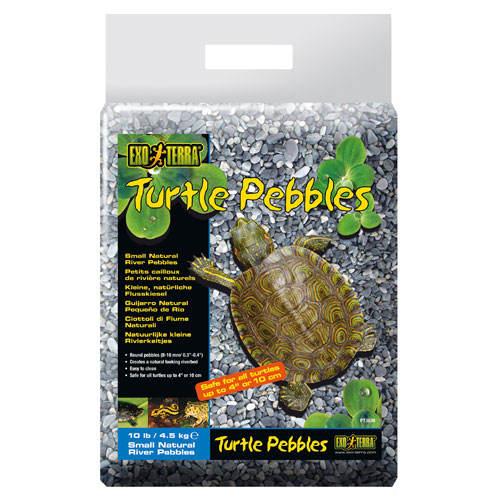 Seixo natural de rio para tartarugas 4.5kg