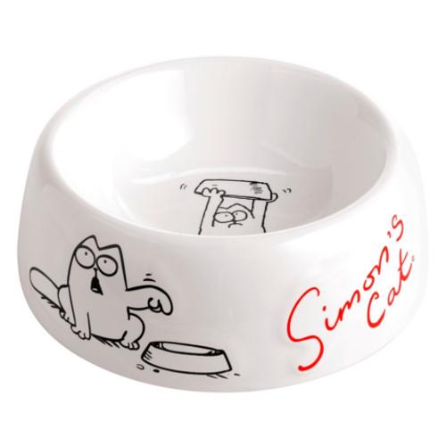 Simon´s Cat comedouro para gatos de cerâmica