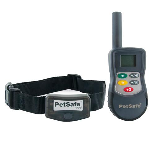 Sistema de treino por controlo remoto para cães