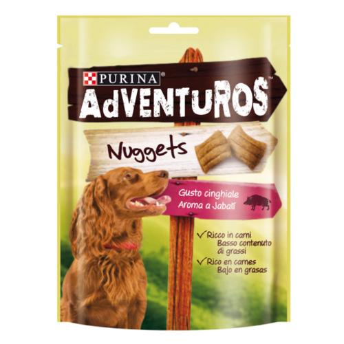 Snack Purina Adventuros Nuggets sabor Javali