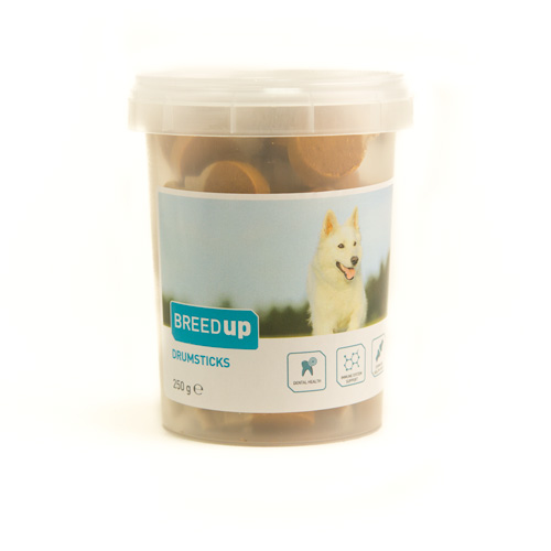 Snacks para cães Breed Up Drumsticks