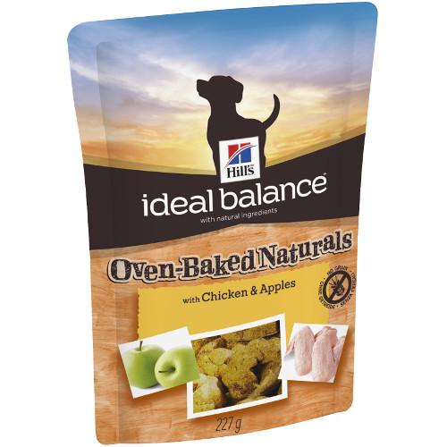 Snacks para cães Hill's Ideal Balance com frango e maça