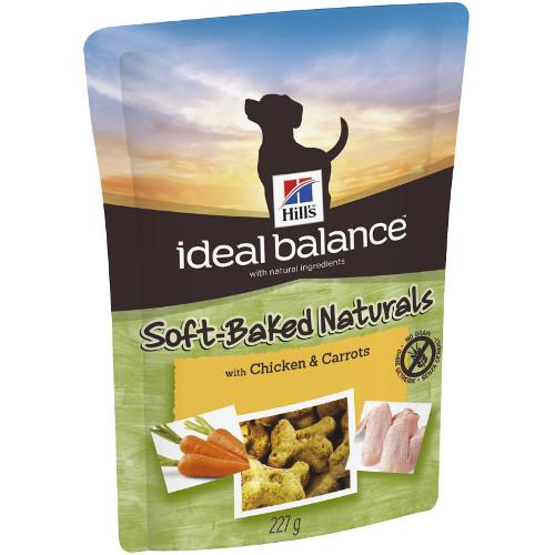 Snacks para cães Hill's Ideal Balance com frango e cenoura
