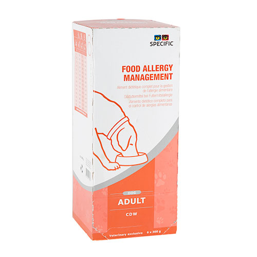 Specific CDW Food Allergy Management