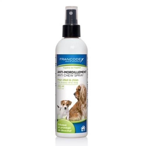 Spray educativo para cães anti-mordeduras Francodex