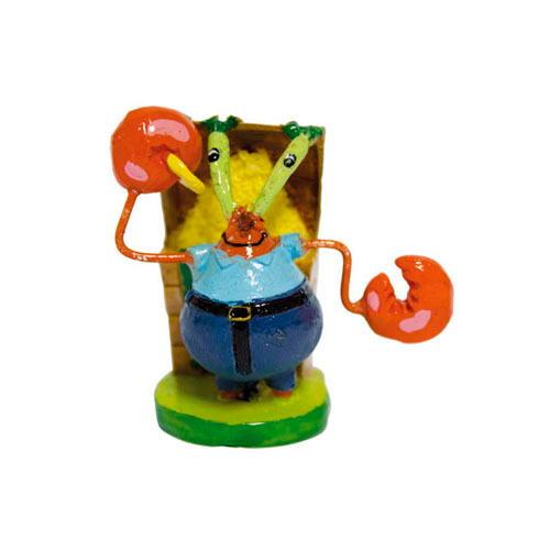 Figuras amigos do Bob Esponja decoração aquários - Vários modelo