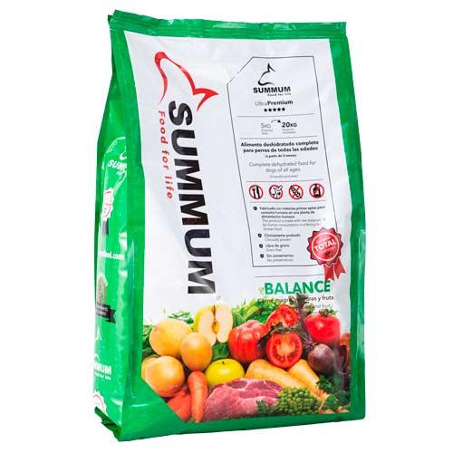 Summum Balance alimento 100% natural para cães