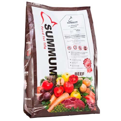 Summum Beef alimento 100% natural para cães