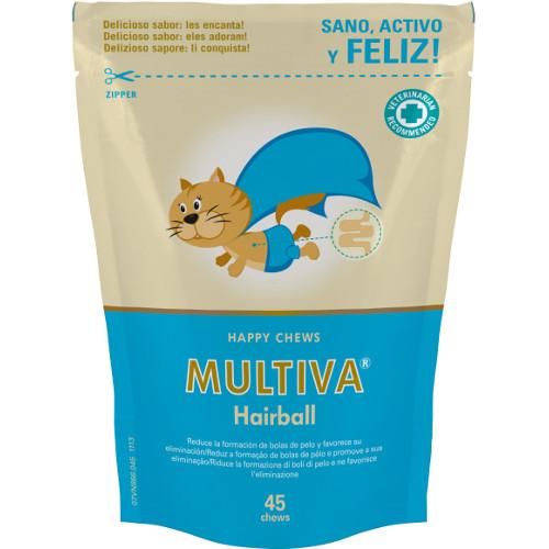 Suplemento nutricional para gatos Multiva Hairball