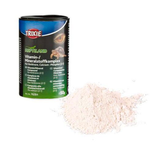 suplemento vitaminico-mineral para répteis herbívoros