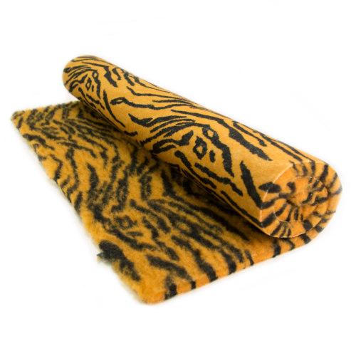 """Tapete absorvente """"Sempre seco"""" estampa tigre"""