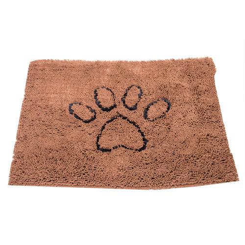 Tapete para cães super absorvente Dirty Dog castanho