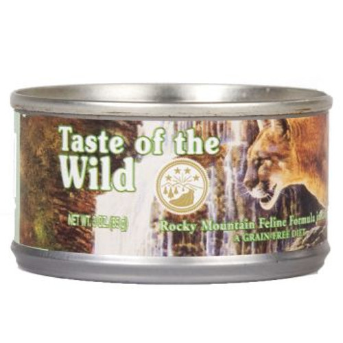 Taste of the Wild Rocky Mountain comida húmida para gatos