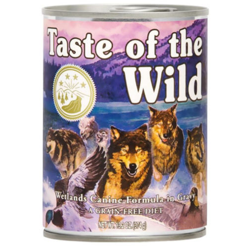 Taste of the Wild Wetlands comida húmida para cães