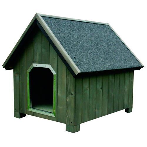 Casota de madeira para cães Alpine Cinzento