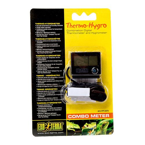Higrómetro+Termómetro Combometer de Exo Terra