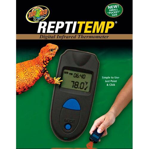 Termómetro compacto digital por infravermelhos