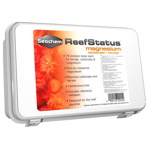 Teste de Magnésio e Alcalinidade Reef Status Magnesium