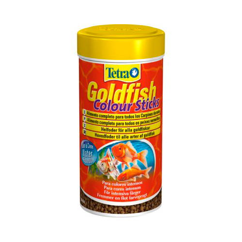 Tetra Goldfish Colour Sticks alimentos em pérolas