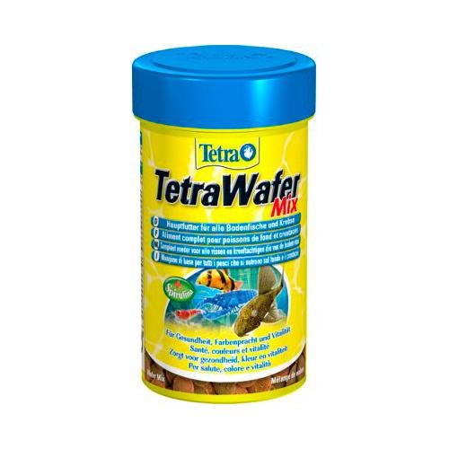 TetraWafer Mix para peixes fitófagos e carnívoros de fundo