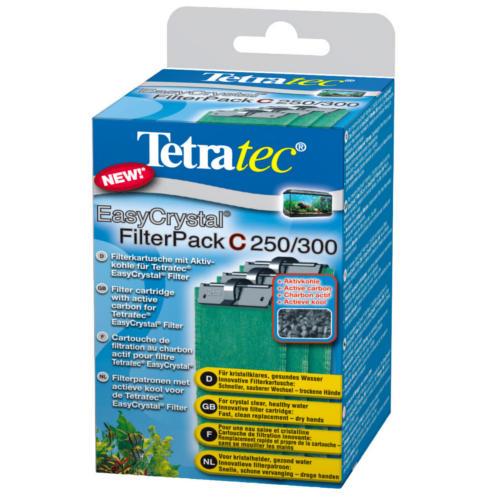 Tetratec EasyCrystal Filter Pack 250/300 filtros carbon