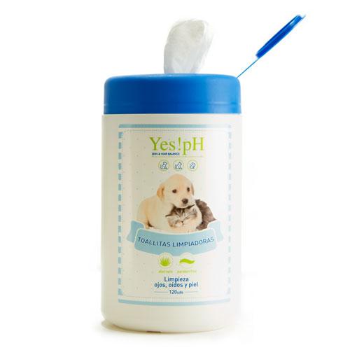 Toalhitas limpadoras para animais de estimação Yes!pH