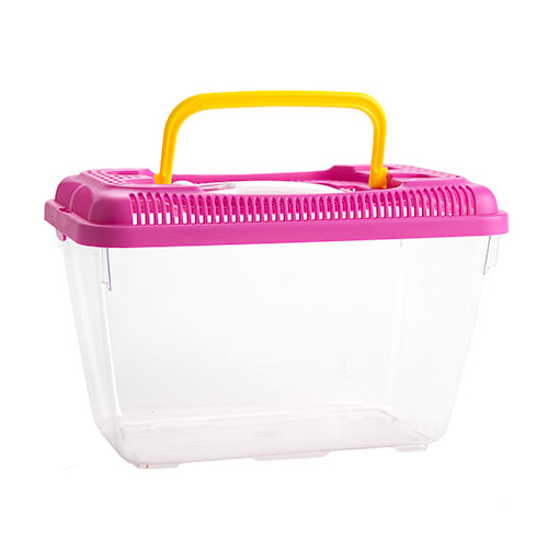 Caixa de transporte para Roedores, répteis peixes e insectos