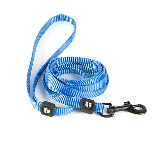 Trela para gatos TK-Pet Classic Nylon azul