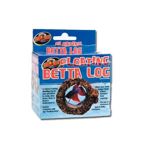 Tronco flutuante para peixes Betta Log