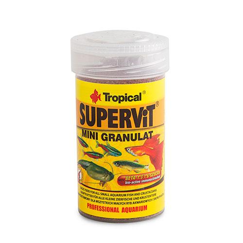 Tropical Supervit Mini Granulat Alimento em grânulos para crias