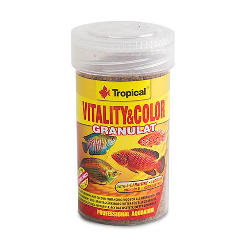 Tropical Vitality & Color granulat Alimento em grânulos
