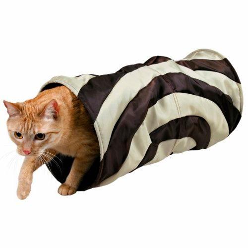 Túnel de Jogo Crocante para Gatos Bicor