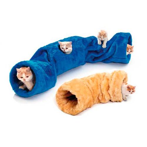 Túnel com som para gatos