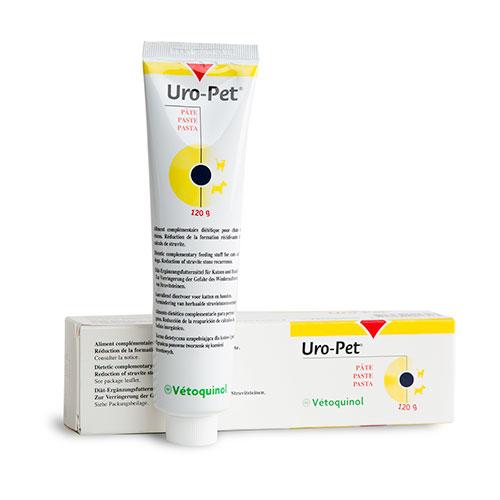 Uro-pet Pasta acidificante da urina para cristais de estruvita