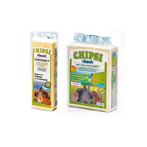 Granulado de lascas natural clássica para pequenos animais